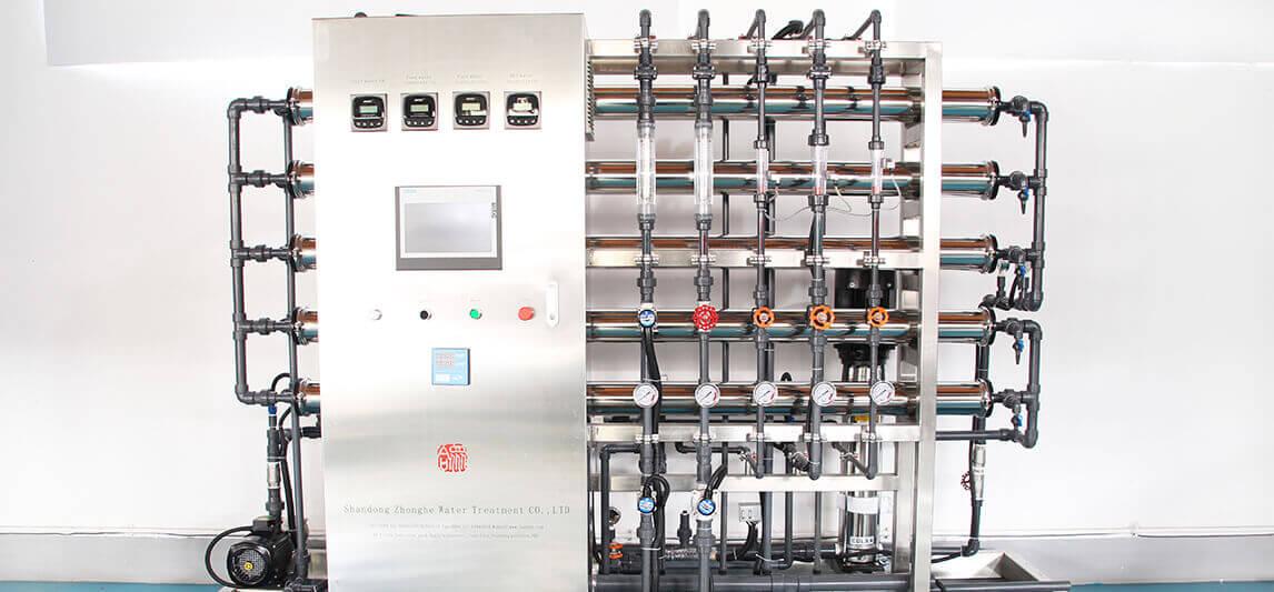 新加坡客户生产车用尿素用水设备